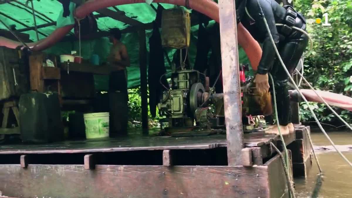 Guyane, sur la piste des orpailleurs clandestins : [4] Le dernier saut