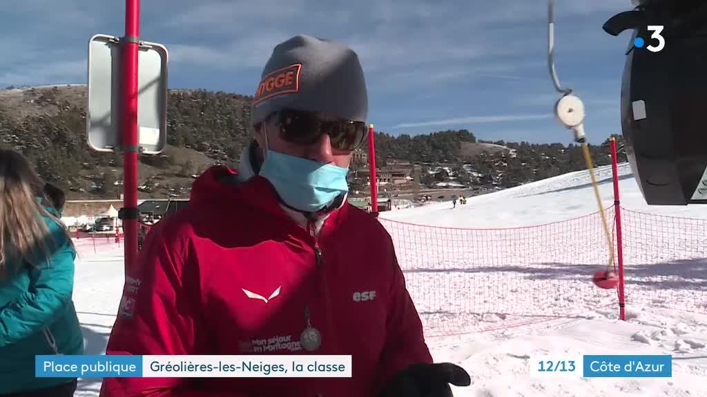 Édition de proximité – Place publique - Gréolières-les-neiges 1/4