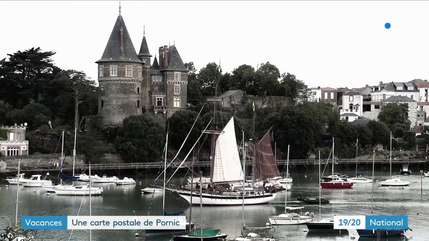 Pornic - 05/08/2019 - Vidéo : France 3  à Pornic à la rencontre des vacanciers