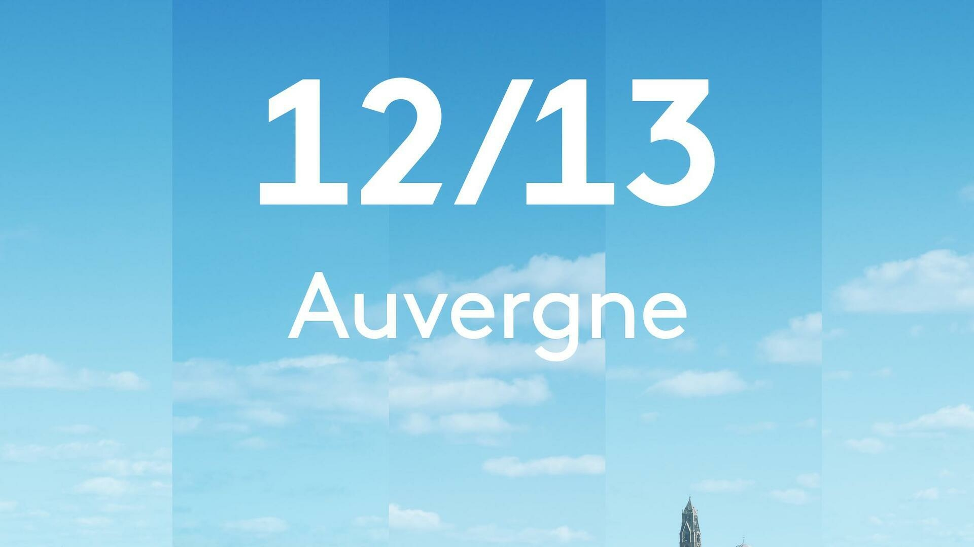 12/13 Auvergne