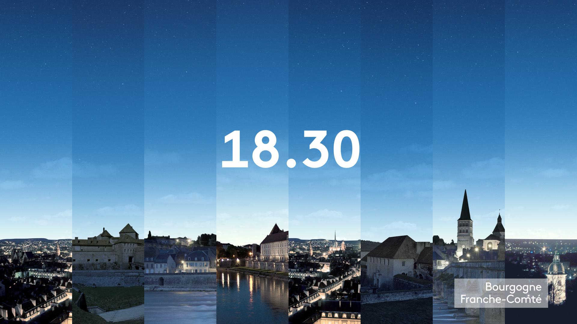 18h30 - Franche-Comté