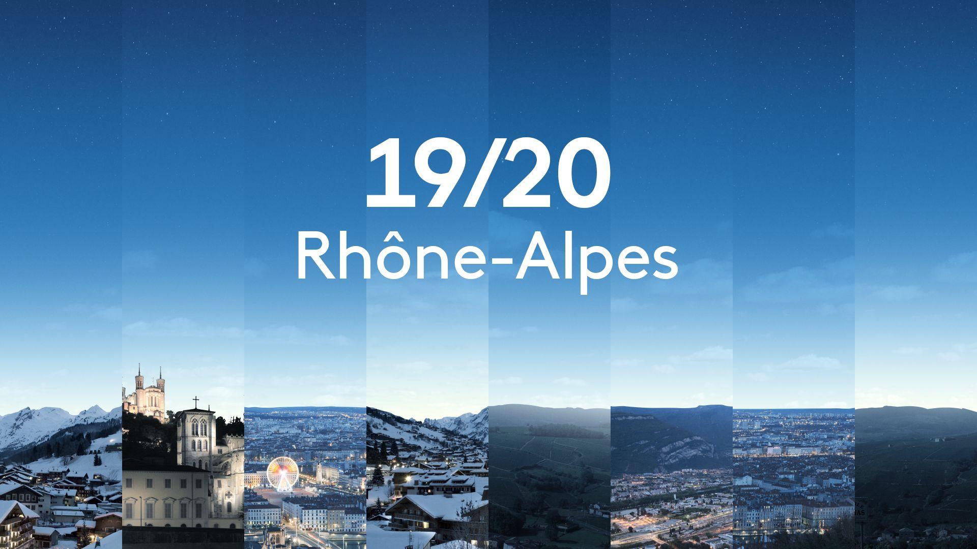 JT 19-20 Rhône-Alpes