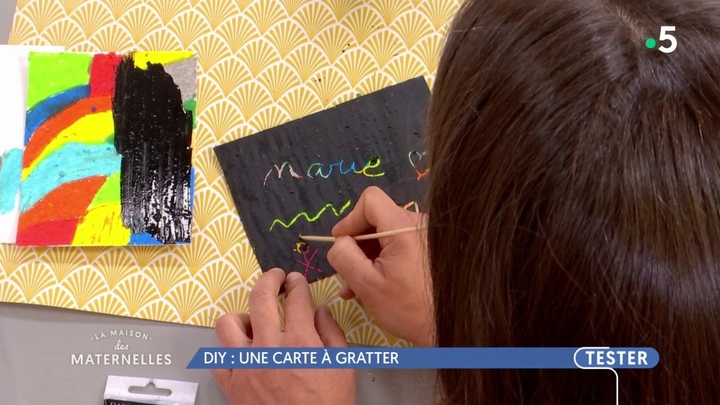 Diy Une Carte à Gratter France 5 14 05 2018