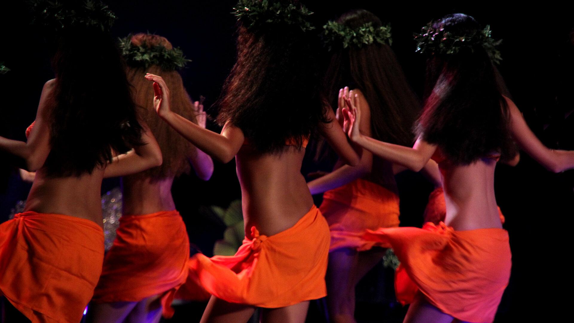 Festival Tahiti Ti'a Ma'i : Page danse