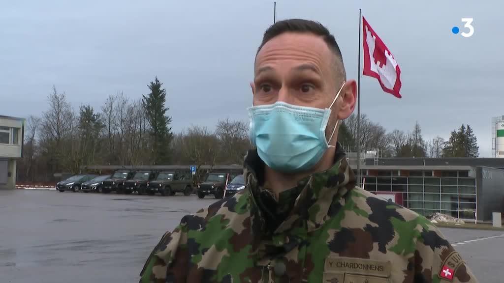 Suisse. L'armée à la maison