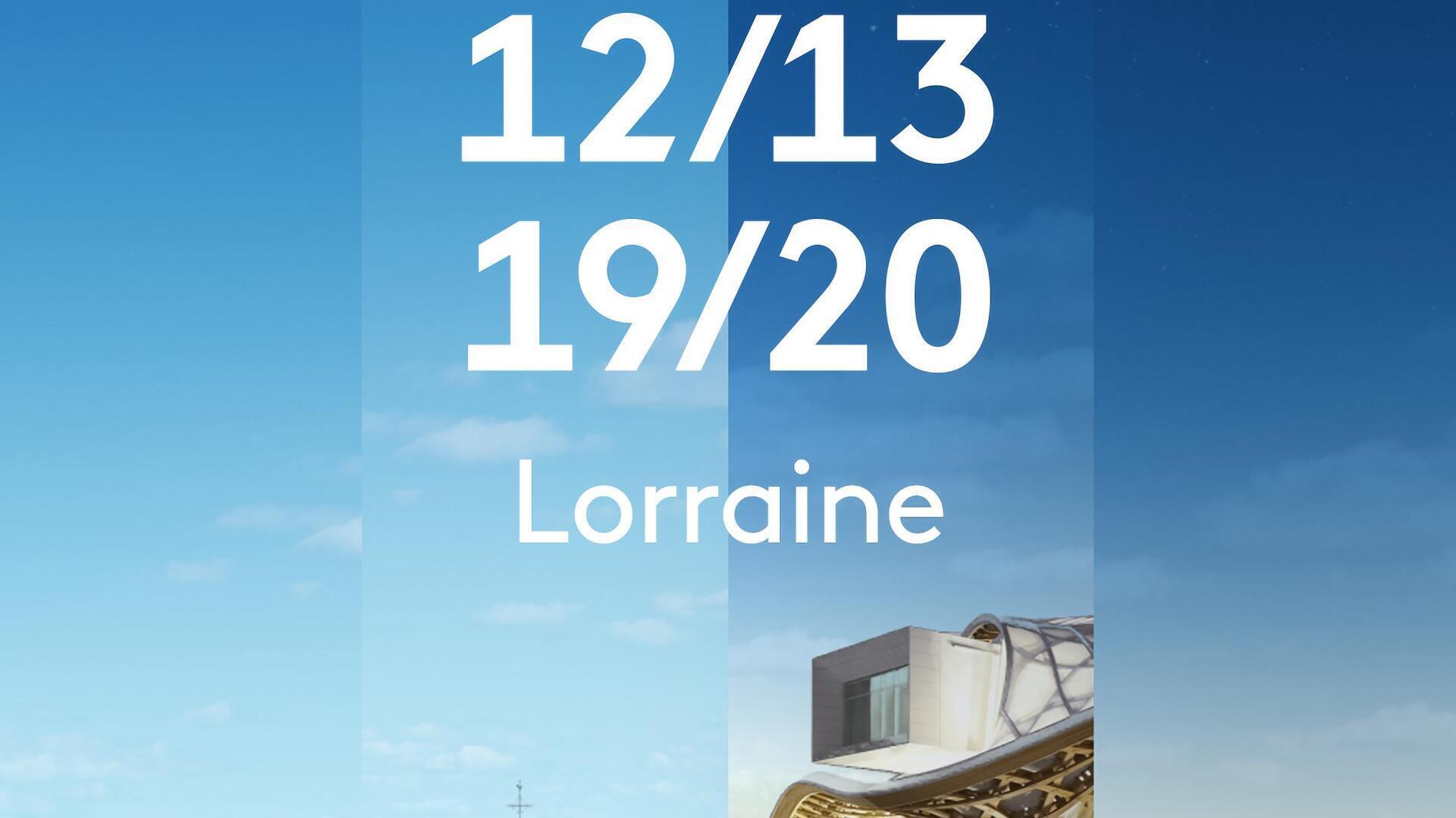 12/13 Lorraine : Edition spéciale Place Stanislas