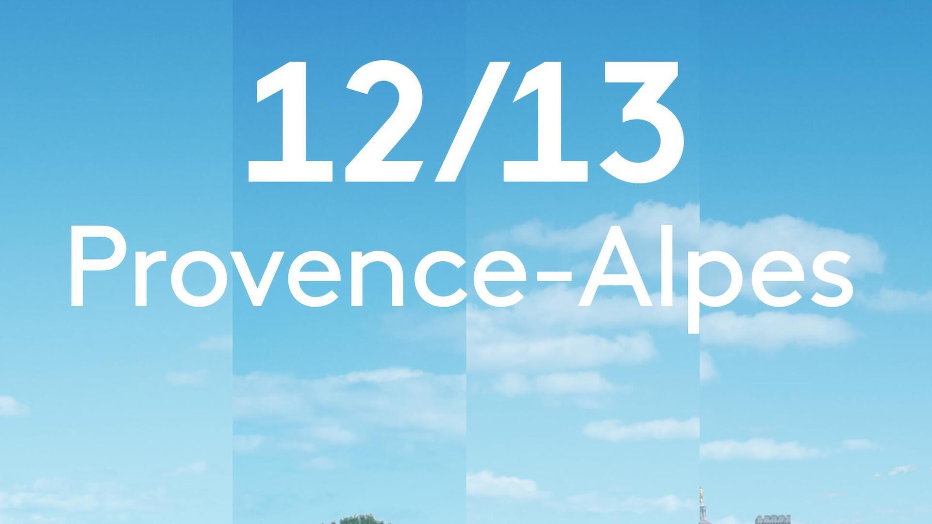 12/13 Provence-Alpes