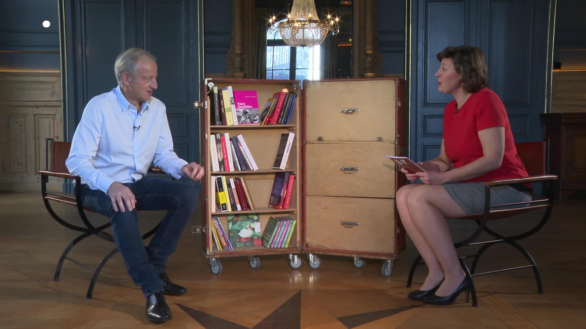 La Bibliothèque Vagabonde avec Yann Queffelec
