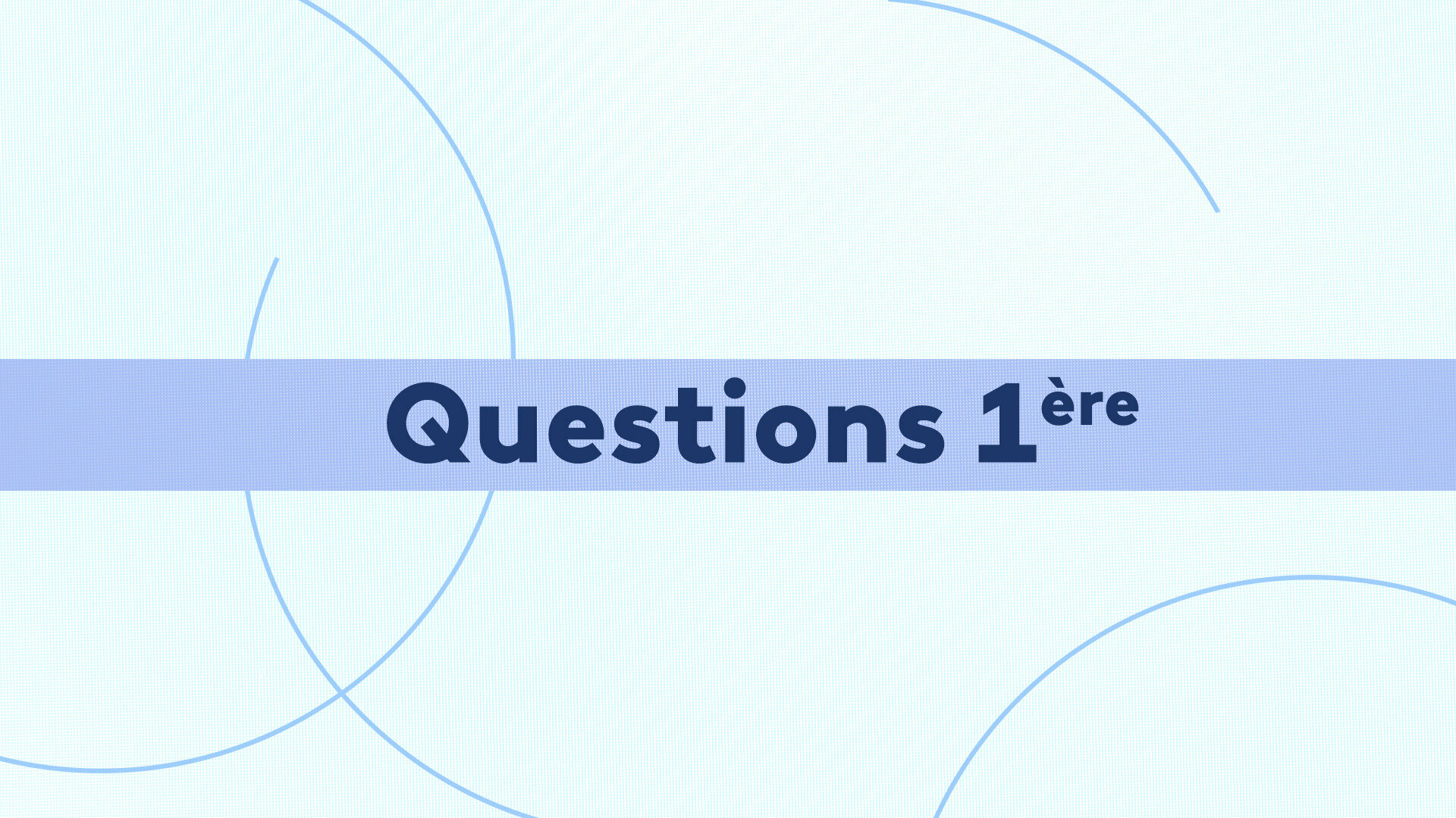 Questions 1ère : Max MATHIASIN