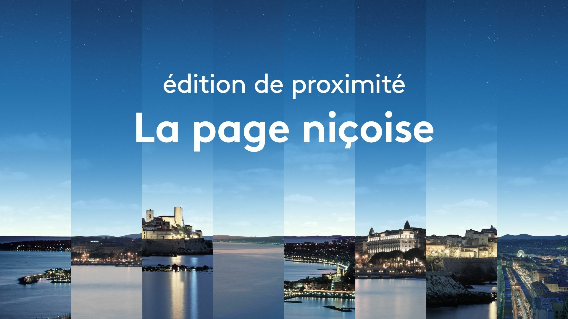 Edition de proximité - La page niçoise